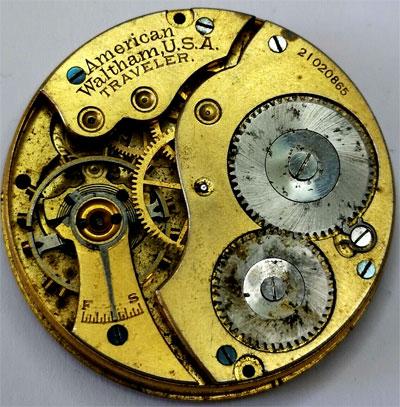 Balance staff pour Elgin pocket watch//montre-divers calibres-voir liste NOS