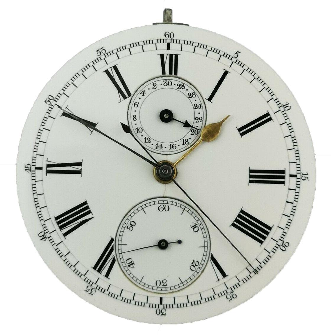 AH Arnold & FH Huguenin Patent Chronograph Movement